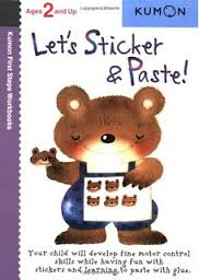 Kumon First Steps Workbook Let's Sticker and Paste