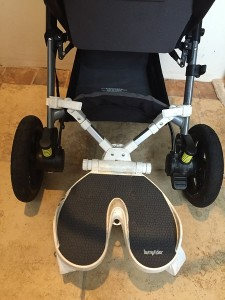 Stroller Features Motion Ride on Board