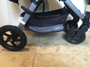 Stroller Features Motion Wheels