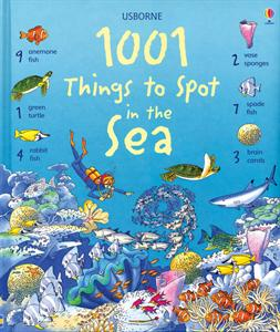 1001 Things To Spot in the Sea book by Usborne