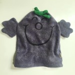 Little Miss Naughty bath mitt puppet washcloth by Roger Hargreaves