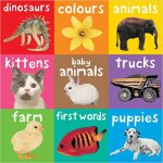 Bright Baby Chunky Books set of nine titles shown in a three by three square configuration