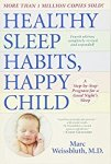Healthy Sleep Habits Happy Child by Marc Weissbluth cover with image of sleeping infant