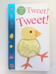 Alphaprints tweet tweet touch and feel board book with fingerprint textures