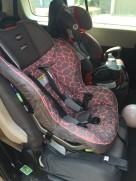 Britax Marathon converitble car seat installed front facing
