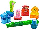 HABA Zippity Zoo animal stacking wooden blocks