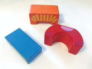 Dings on Haba zippity zoo wooden blocks after years of use