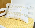 Olli and Lime toddler Miller design sheet set with pillow