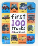 First 100 Trucks Board Book cover by Roger priddy