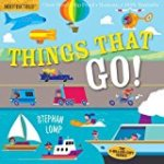 Indesctructibles book for babies Things That Go title