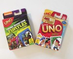 Uno card games for kids in teenage mutant ninja turtle and Jake Neverland Pirates versions