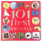 101 First Animals big board book from Make Believe Books