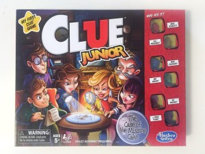 Clue Junior mystery deduction logic board game for kids