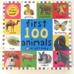 First 100 animals big board book by Roger Priddy bright baby