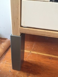 Ikea Duktig play kitchen adjustable plastic leg