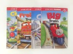 Train series by Stone Arch Readers Level one Big City Freight Circus Train titles