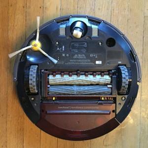 Roomba robotic vacuum underside
