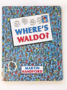 Where's Waldo? look and find search book by Martin Handford