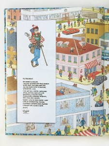 Page from Where's Waldo? original book