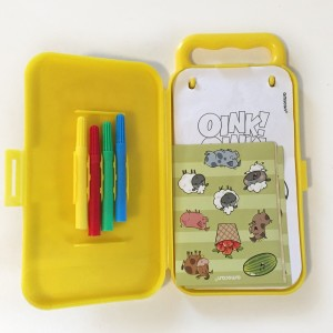 Amscan activity kit in Farm Fun with four tiny markers stickers and coloring sheets
