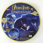 Dream Tent space adventure edition round packaging pop up tent for kid bed