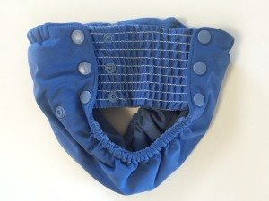 Side view of Grovia my choice trainer pants for potty training