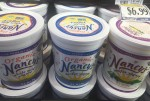 Nancy's yogurt in organic whole milk, low fat and regular plain in 32 ounce container
