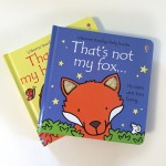 Usborne touchy feely books That's Not My Fox and Hedgehog textured board books