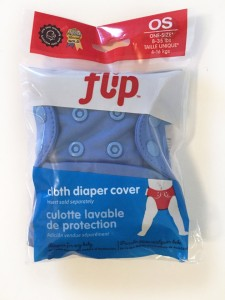 Flip diaper cover inside clear bag packaging brand new