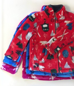 Hatley fuzzy fleece in sizes 3, 4, and 6