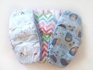 Three honest company disposable diaper different designs