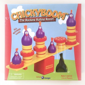 Chickyboom balancing chicken game for young kids