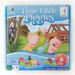 Three Little Piggies logic puzzle games for young kids
