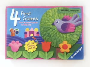 Four first games four board games in one box from Ravensburger