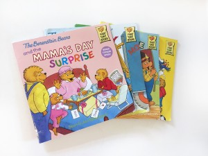 Berenstain Bears book stack collection Mama's Day Surprise and more