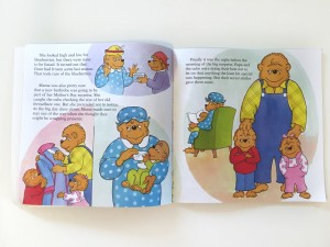 Inside the Berenstain Bears Mama's Day Surprise picture book
