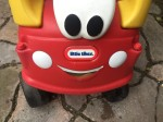 Classic red cozy coupe ride on car for toddlers by little tikes foot powered