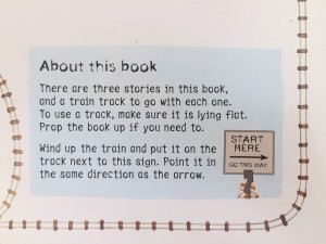 About this book excerpt from wind up train book