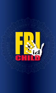 FBI Child ID logo opening screen