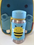 Skip Hop Baby Zoo Insulated Lunch Bag and Stainless Steel straw water bottle