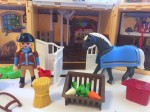 Playmobil my secret horse stable play box set up with horse and person