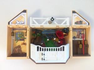 Playmobil my secret box play set box with stuff stored inside