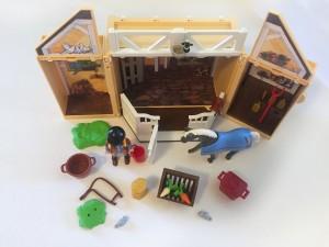 Playmobil Horse stable secret play box set