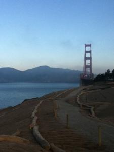 Golden Gate suspension bridge in San Francisco