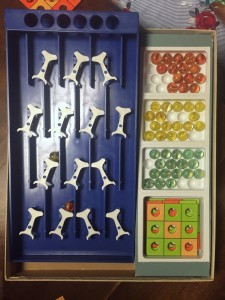 Avalanche parker brothers marble swinging gate game vintage
