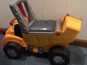 Big Dog truck Little Tikes side view