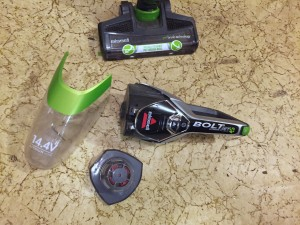 Bissell Bolt pieces come apart for easy cleaning