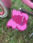 Kidzamo pink butterfly kid bike pedals replacement