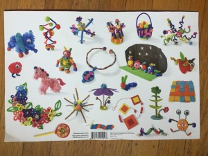 Packaging from Kid Made Modern art kit smarts and crafts crazy case