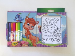 Crayola mini coloring pages in Whisker Haven theme